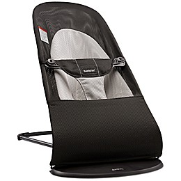BABYBJORN® Bouncer Balance Soft in Black/Grey Mesh