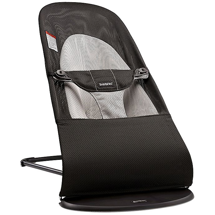 14b49b3a774 BABYBJORN® Bouncer Balance Soft in Black Grey Mesh