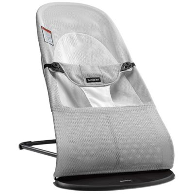 Babybjorn® Bouncer Balance Soft In Silver/White Mesh by Bed Bath And Beyond