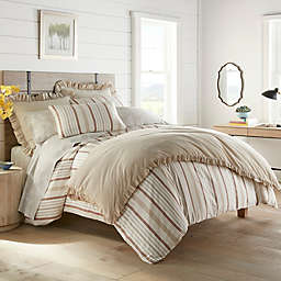Stone Cottage Conrad 3-Piece Full/Queen Duvet Cover Set in Clay