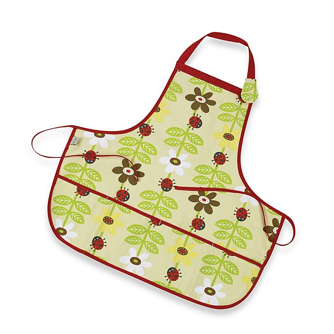 Alternate image 1 for Sugarbooger® by o.r.e Kiddie Apron in Lady Bug
