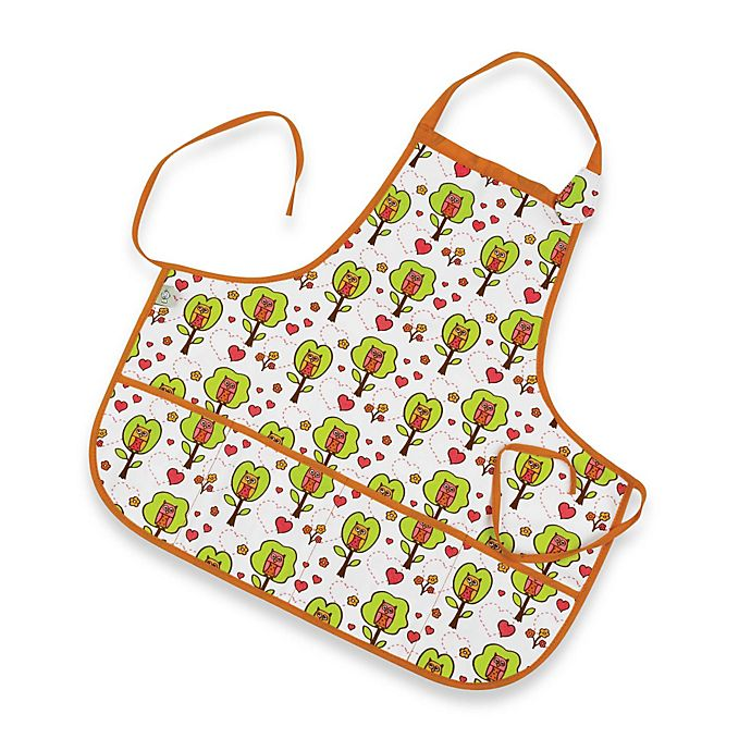 Alternate image 1 for Sugarbooger® by o.r.e Kiddie Apron in Hoot!