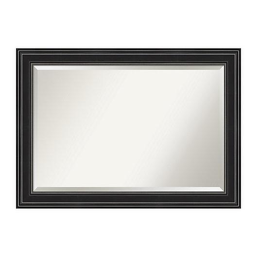 Alternate image 1 for Amanti Art Ridge Framed Bathroom Vanity Mirror