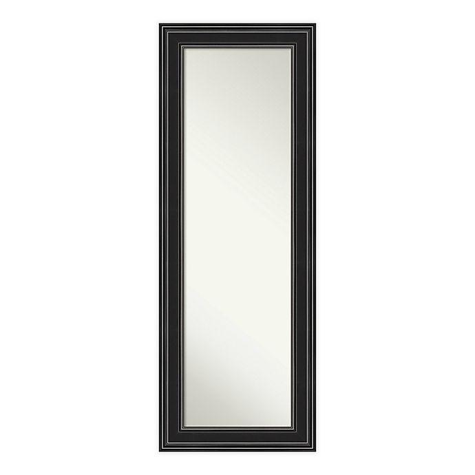 Alternate image 1 for Amanti Art Ridge 20-Inch x 54-Inch Framed On the Door Mirror
