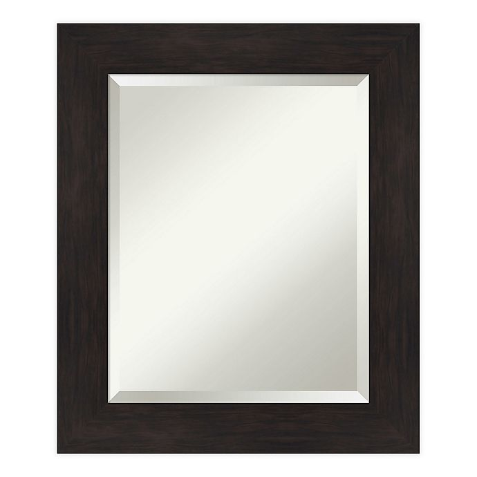 Alternate image 1 for Amanti Art Furniture Espresso Framed Bathroom Vanity Mirror in Brown