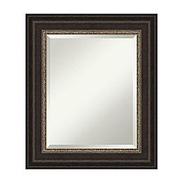 Amanti Art Impact Framed Bathroom Vanity Mirror in Bronze