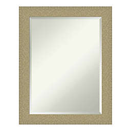 Amanti Art Mosaic 22-Inch x 28-Inch Framed Bathroom Vanity Mirror in Gold