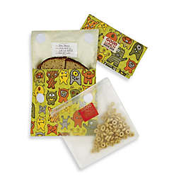 Sugarbooger® by o.r.e Good Lunch Set of 3 Snack Sack in Hungry Monsters