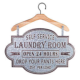 Bee & Willow® Home Galvanized Metal Laundry Wall Sign