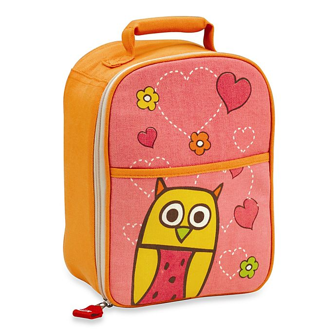 Alternate image 1 for Sugarbooger® by o.r.e Zippee Lunch Tote in Hoot!