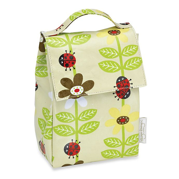 Alternate image 1 for Sugarbooger® by o.r.e Lunch Sack in Lady Bug