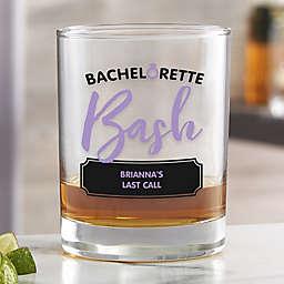 Bachelorette Bash Personalized 14 oz. Whiskey Glass