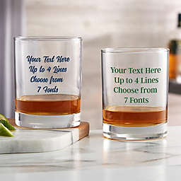 Write Your Own Custom Printed 14 oz. Whiskey Glass