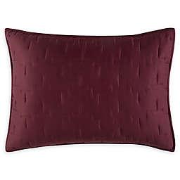 O&O by Olivia & Oliver™ Lofty Stitch Standard Pillow Sham in Wine