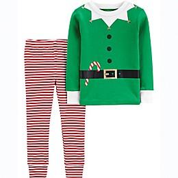 carter's® 2-Piece Elf Suit Pajama Set