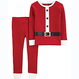 carter's® 2-Piece Santa Suit Pajama Set