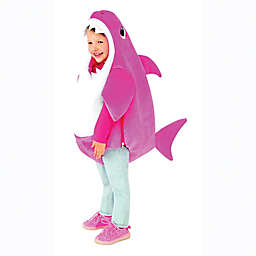 Pink Fong Mommy Shark Child's Halloween Costume in Pink