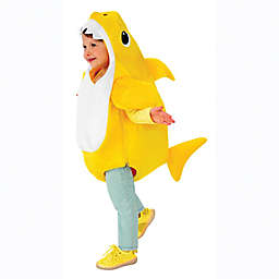 Pink Fong Baby Shark Child's Halloween Costume in Yellow