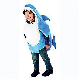 Pink Fong Daddy Shark Child's Halloween Costume in Blue