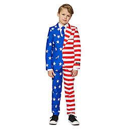 Suitmeister Boy's USA Flag Suit