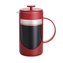 BonJour® 3-Cup Ami-Matin Unbreakable French Press in Red