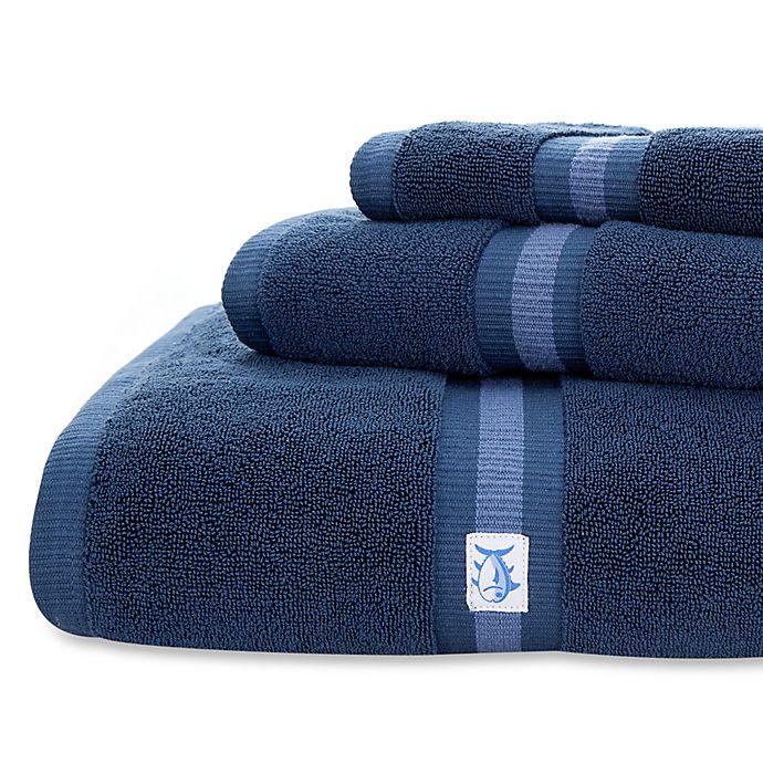 Alternate image 1 for Southern Tide Skipjack Hand Towel in Nautical Blue