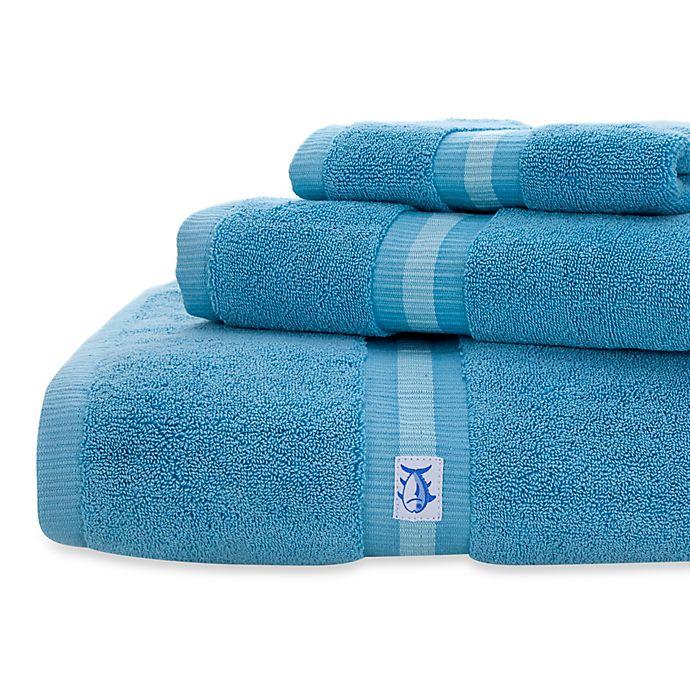 Alternate image 1 for Southern Tide Skipjack Bath Towel in Blue
