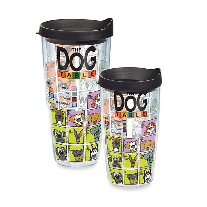 c010ad7aaf6 Tervis® Dog Periodic Table Tumbler | Bed Bath & Beyond
