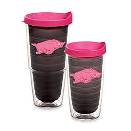Tervis® University of Arkansas Razorbacks Tumbler with Lid in Neon Pink