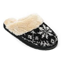 Minnetonka® Holiday Plaid Scuff Women's Slipper