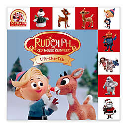 """""""Rudolph The Red-Nosed Reindeer Lift-the-Tab Book"""" by Roger Priddy"""