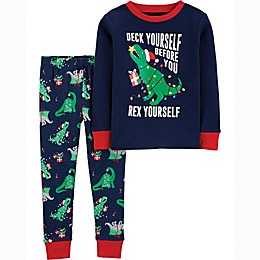 carter's® 2-Piece Dinosaur Toddler Pajama Set