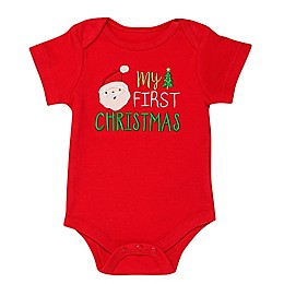 Baby Starters® First Christmas Bodysuit in Red