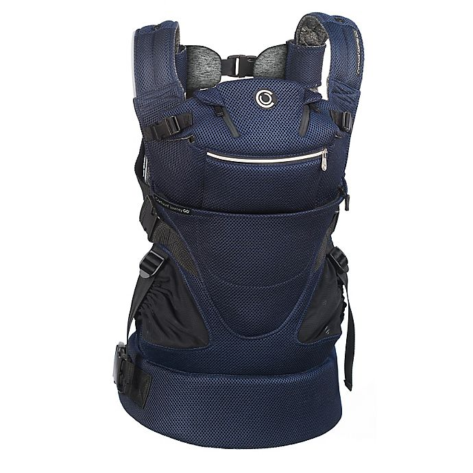 Alternate image 1 for Contours® Journey GO 5-in-1 Baby Carrier in Navy