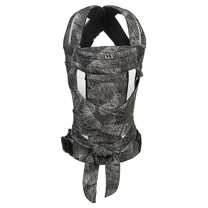 Alternate image 1 for Contours® Cocoon 5-in-1 Baby Carrier in Black