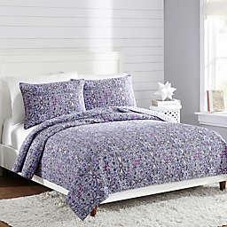 Vera Bradley® Kaleidoscope Reversible Full/Queen Quilt in Purple