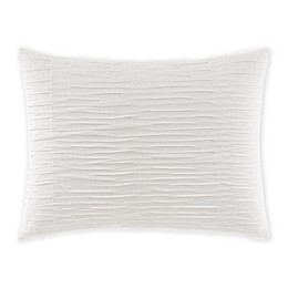 VERA WANG TEXTURED PLEAT PILLOW 12\