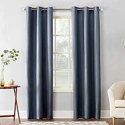 Sun Zero® Cooper Thermal Insulated Room Darkening Grommet Window Curtain Panel