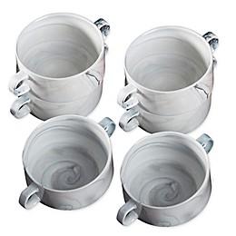 Certified International Marble Soup Crocks (Set of 6)