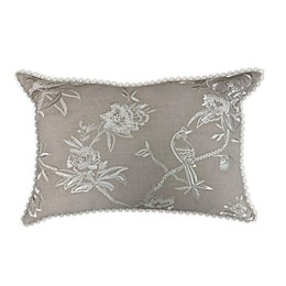 Wamsutta® Shadow Garden Throw Pillow in Tan