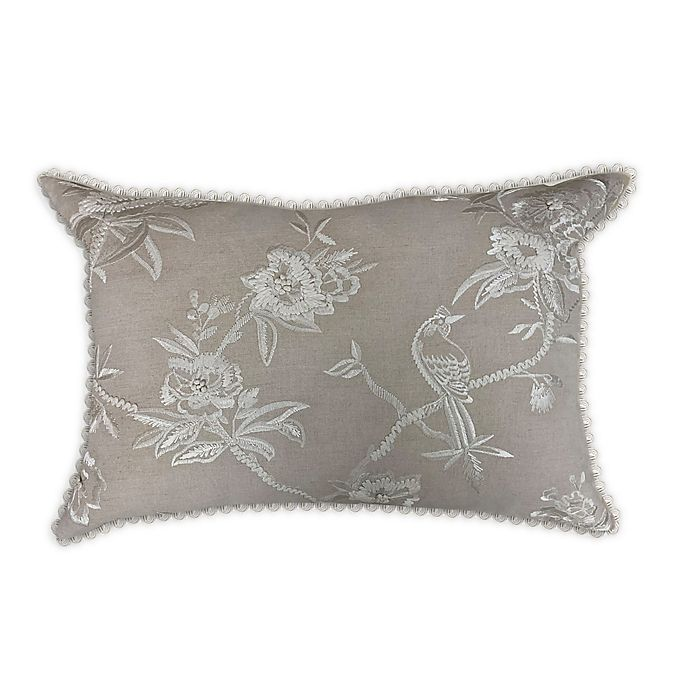 Alternate image 1 for Wamsutta® Shadow Garden Throw Pillow in Tan