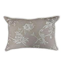 Wamsutta® Shadow Garden Throw Pillow in Tan