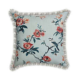 Wamsutta® Peony Branch Throw Pillow in Pink