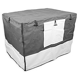 IconicPet Indoor/Outdoor Crate Cover in Grey
