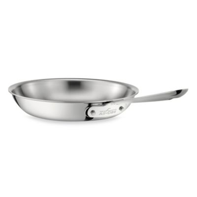All Clad Stainless Steel 8 Inch Fry Pan Bed Bath Amp Beyond
