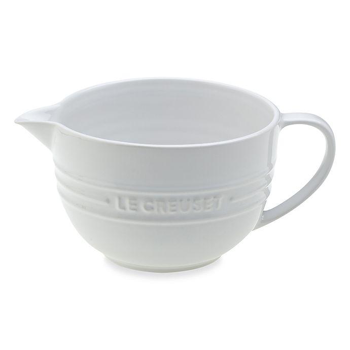 Alternate image 1 for Le Creuset® Stoneware 2-Quart Batter Bowl