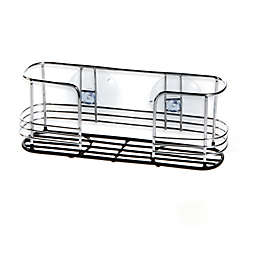 Dual Suction Chrome Sink Caddy