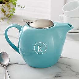 Classic Celebrations Personalized 30 oz. Turquoise Teapot