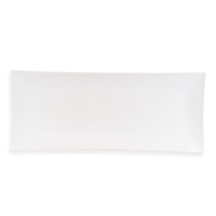 Alternate image 1 for Everyday White® by Fitz and Floyd® 23-Inch XL Rectangular Platter