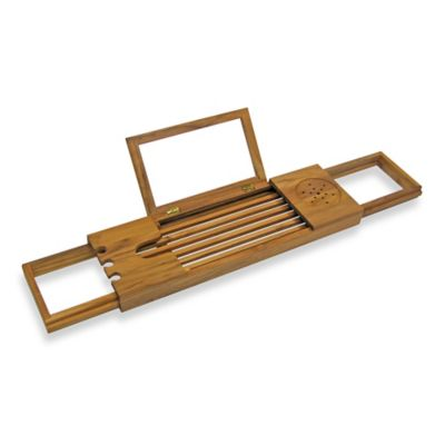 Teak Bathtub Caddy Bed Bath Amp Beyond